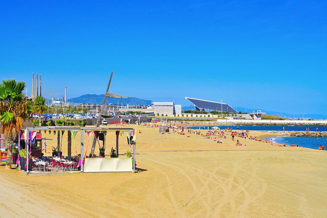 Mar Bella beach Barcelona